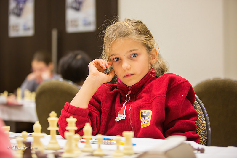 Talent poparty pracą, czyli 9-latka szachową mistrzynią!