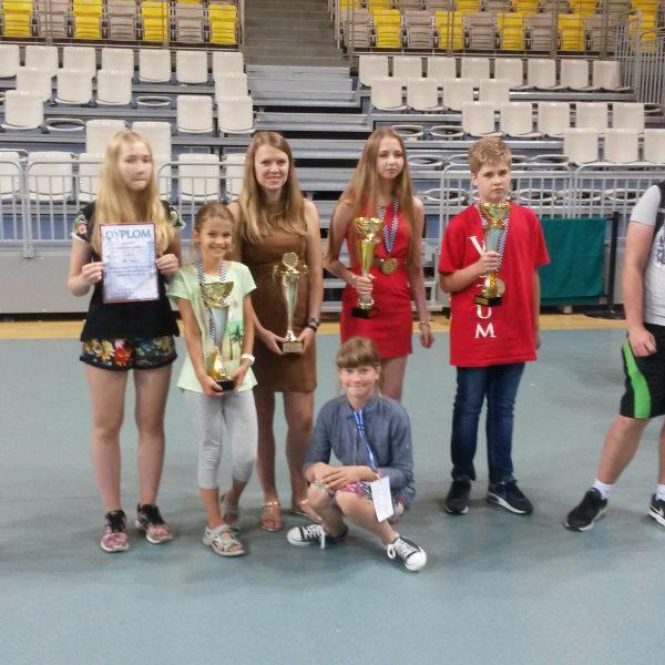Mistrzostwa Polski Juniorów w Szachach Błyskawicznych: 2 srebra i brąz