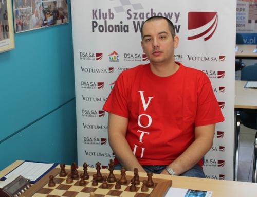 Dima Mastrovasilis zajmuje 2. miejsce w Arad Open!