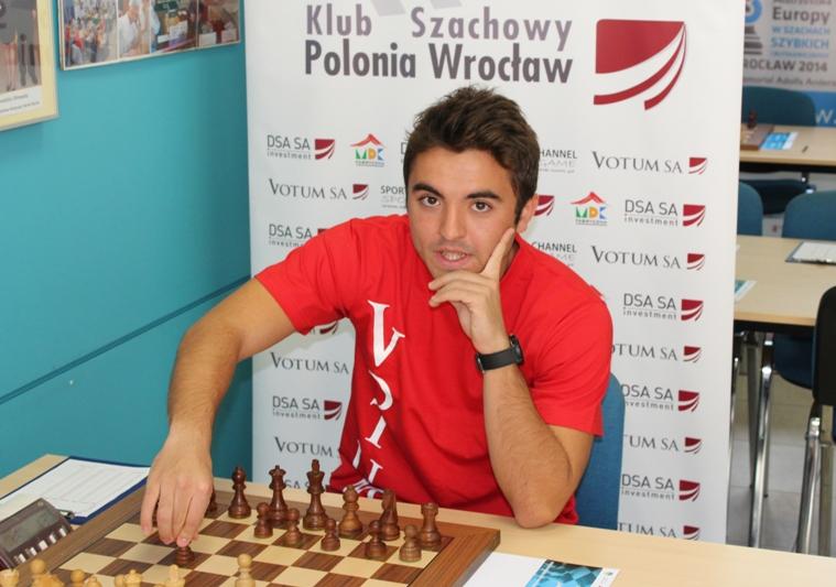 Oskar Wieczorek gra w Hiszpanii