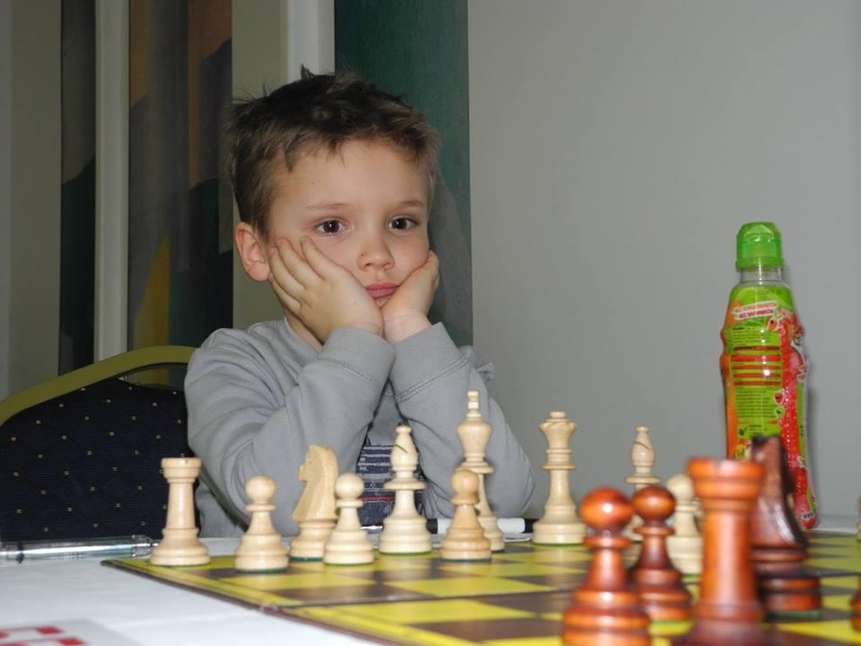 Brąz Filipa Pawickiego. Mistrzostwa Polski Juniorów do lat 6 i 7