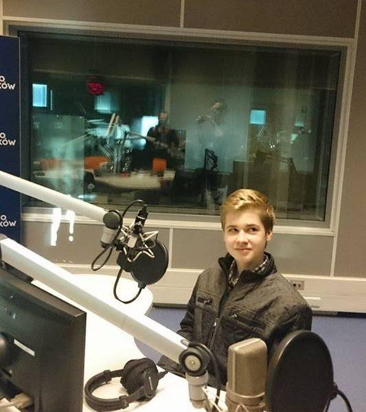 Szymon Gumularz udziela wywiadu radiowego!