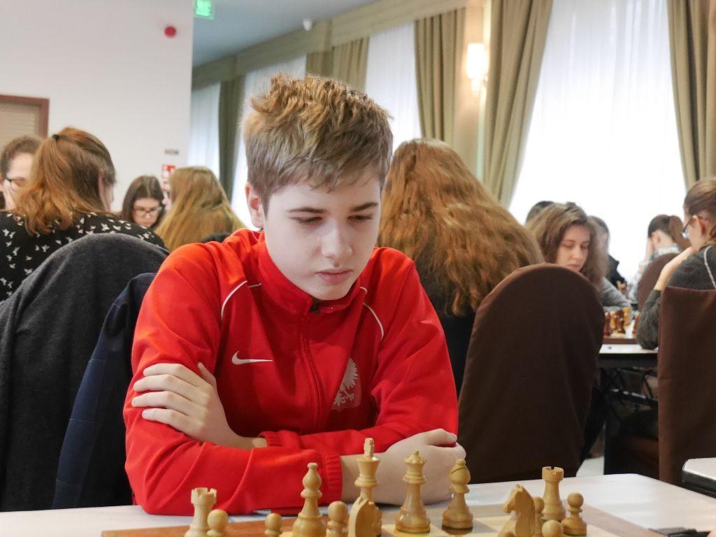 Szymon Gumularz gra w London Chess Classic