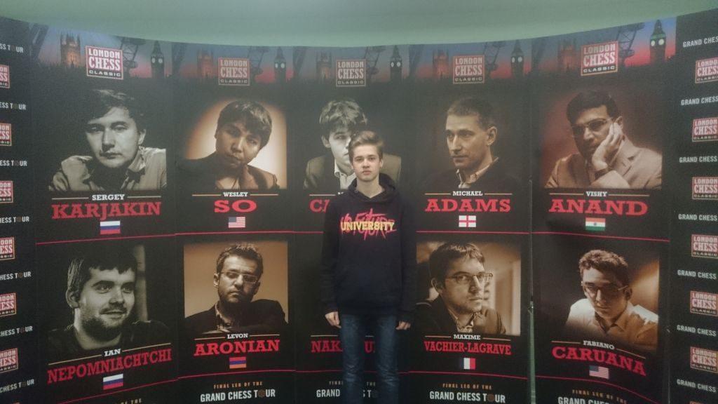 London Chess Classic: świetny wynik Szymona Gumularza!