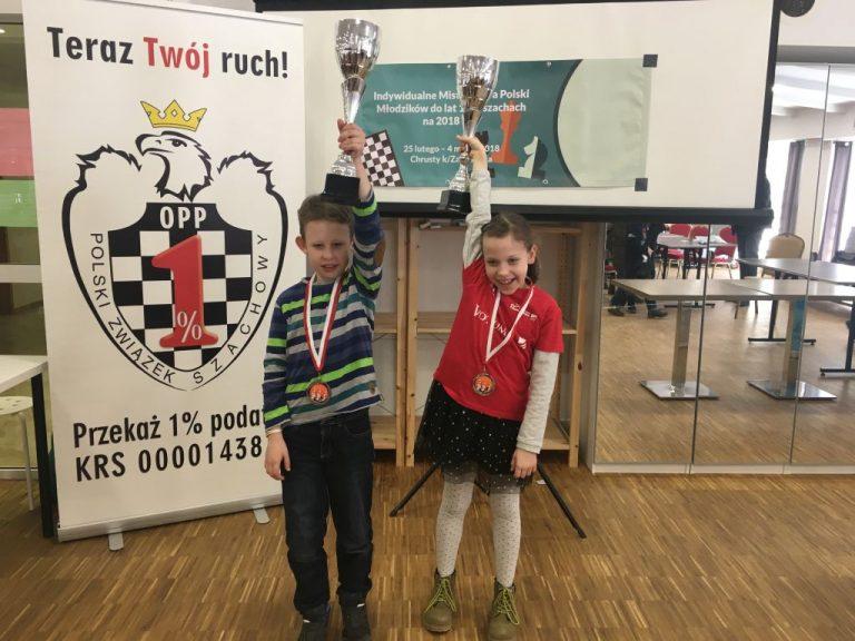 Mistrzostwa Polski Juniorów do lat 10: dwa medale Polonii Wrocław!