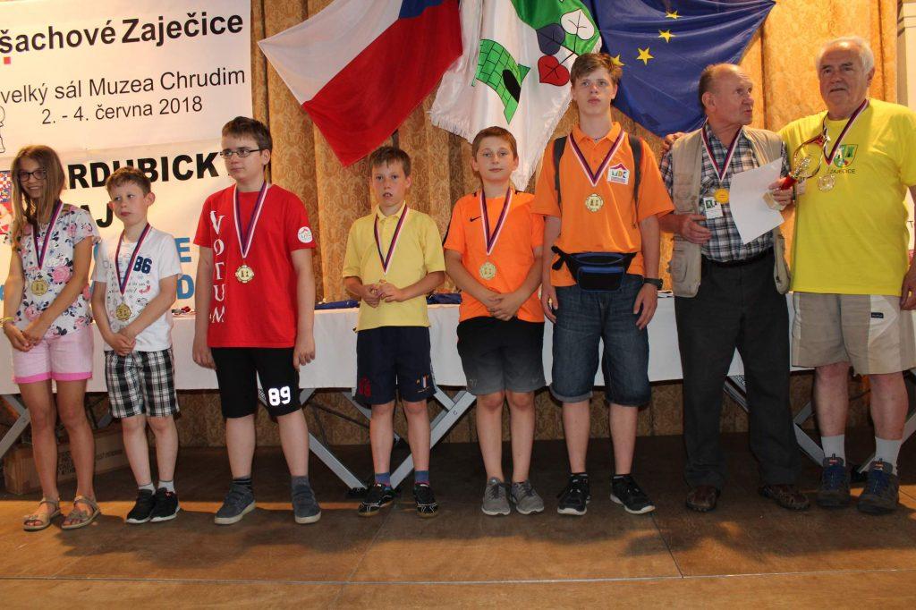 Poloniści w Drużynowych Mistrzostwach Czech Juniorów w Szachach Szybkich!