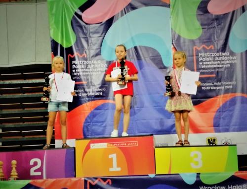 Mistrzostwa Polski Juniorów w Szachach Szybkich – mamy 3 medale!