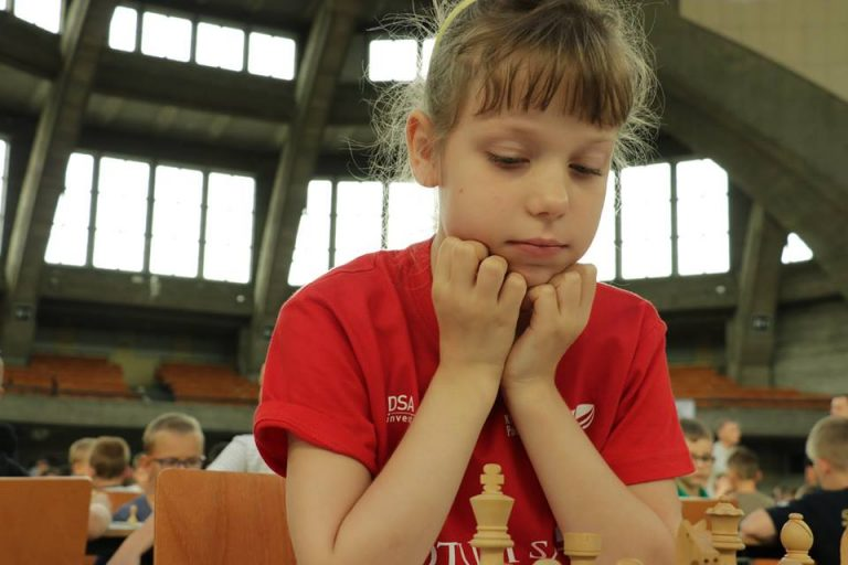 Mistrzostwa Świata do lat 8 – gra Wiktoria Śmietańska