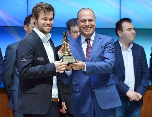 Carlsen wygrywa Shamkir w wielkim stylu!
