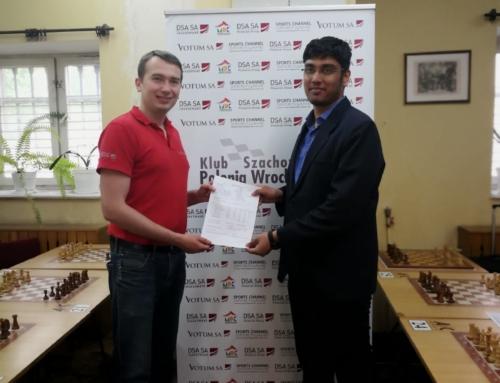 Polonia Masters – Swayams Mishra z Indii nowym arcymistrzem!!