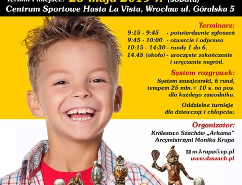 Szachowe Mistrzostwa Dolnego Śląska do lat 7