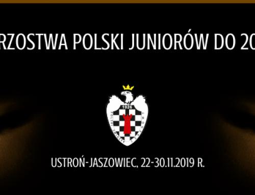 Indywidualne Mistrzostwa Polski do lat 20 zakończone