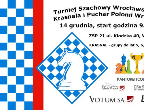 Turniej Wrocławskiego Krasnala – 14.12.2019