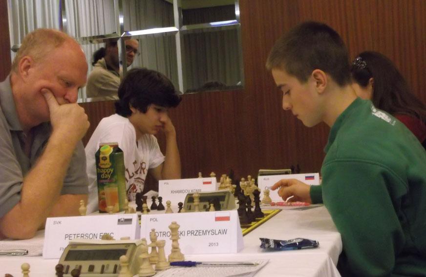 Komil Khamidov i Przemek Piotrowski