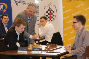 Mistrzostwa Polski w szachach Mateusz Bartel vs Grzegorz Gajewski