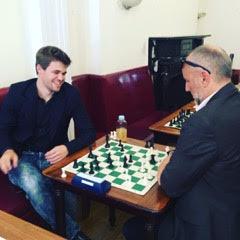 Carlsen i GM Agdestain