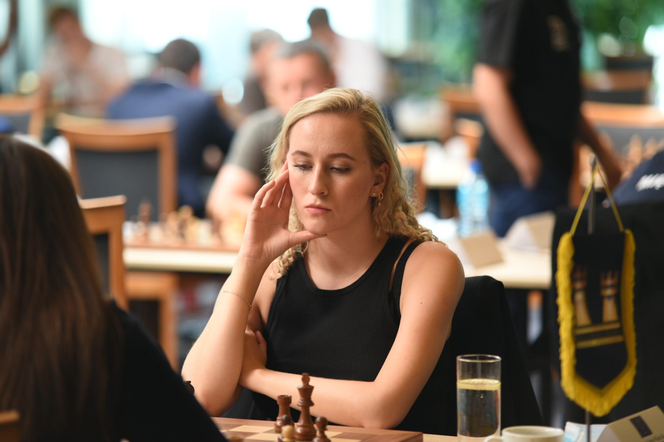 Maria Leks była w meczu z Polonią zaliczyła jedyną wygraną w turnieju. fot. Robert Pawlikowski