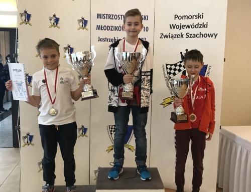 Dwa medale polonistów w Mistrzostwach Polski Chłopców do lat 10!