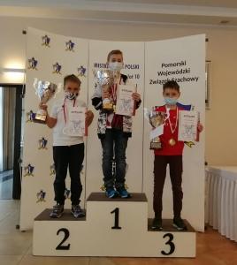 Mistrzostwa Polski Juniorów podium
