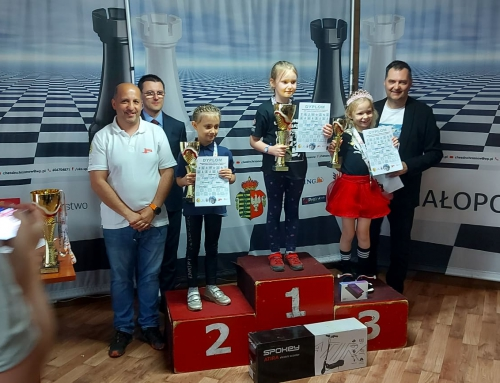 Lila Rządkowska z brązowym medalem Mistrzostw Polski do lat 7!