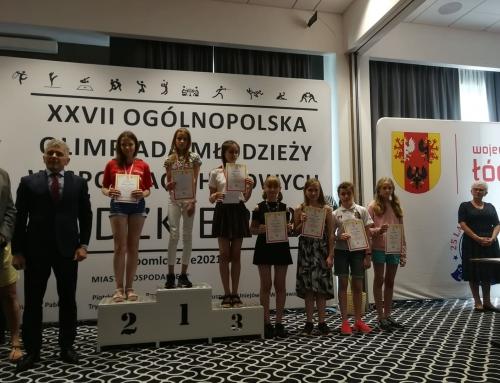Śmietańska i Madej z medalami Mistrzostw Polski Juniorów!