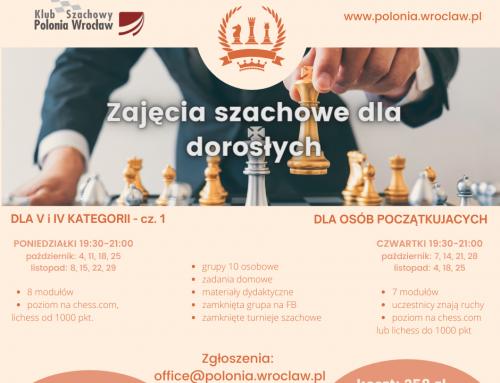 Zajęcia szachowe dla dorosłych