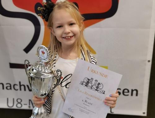 Lila Rządkowska – szachową Mistrzynią Niemiec